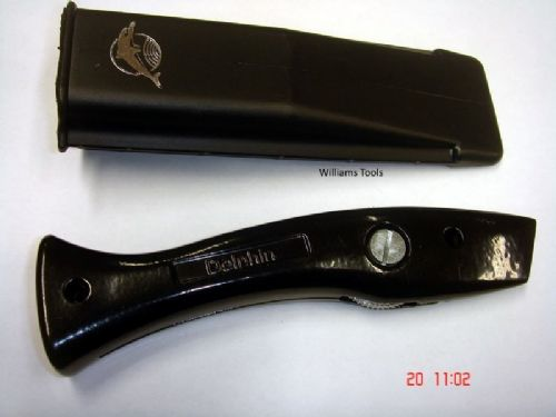 Genuine Original BLACK Delphin Dolphin Knife Handle & Holster Carpet Tool